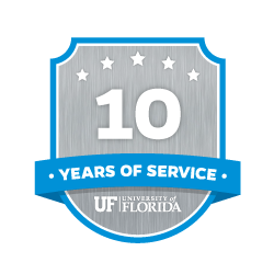 10 Year Recipient Award Badge