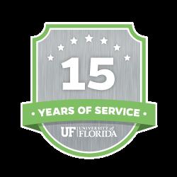 15 Year Recipient Award Badge
