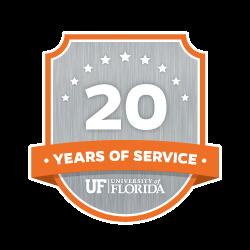 20 Year Recipient Award Badge