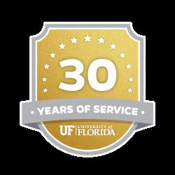 30 Year Recipient Award Badge