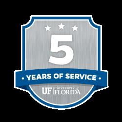 5 Year Recipient Award Badge