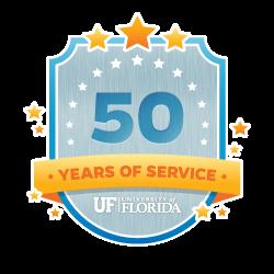50 Year Recipient Award Badge